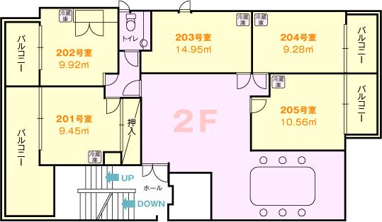 浅草間取り図2階