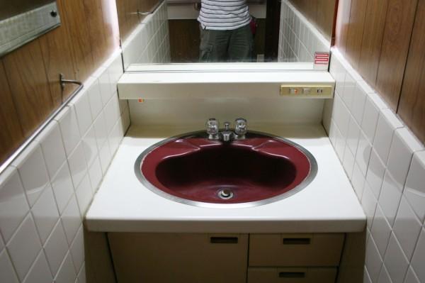 西新宿2階洗面所